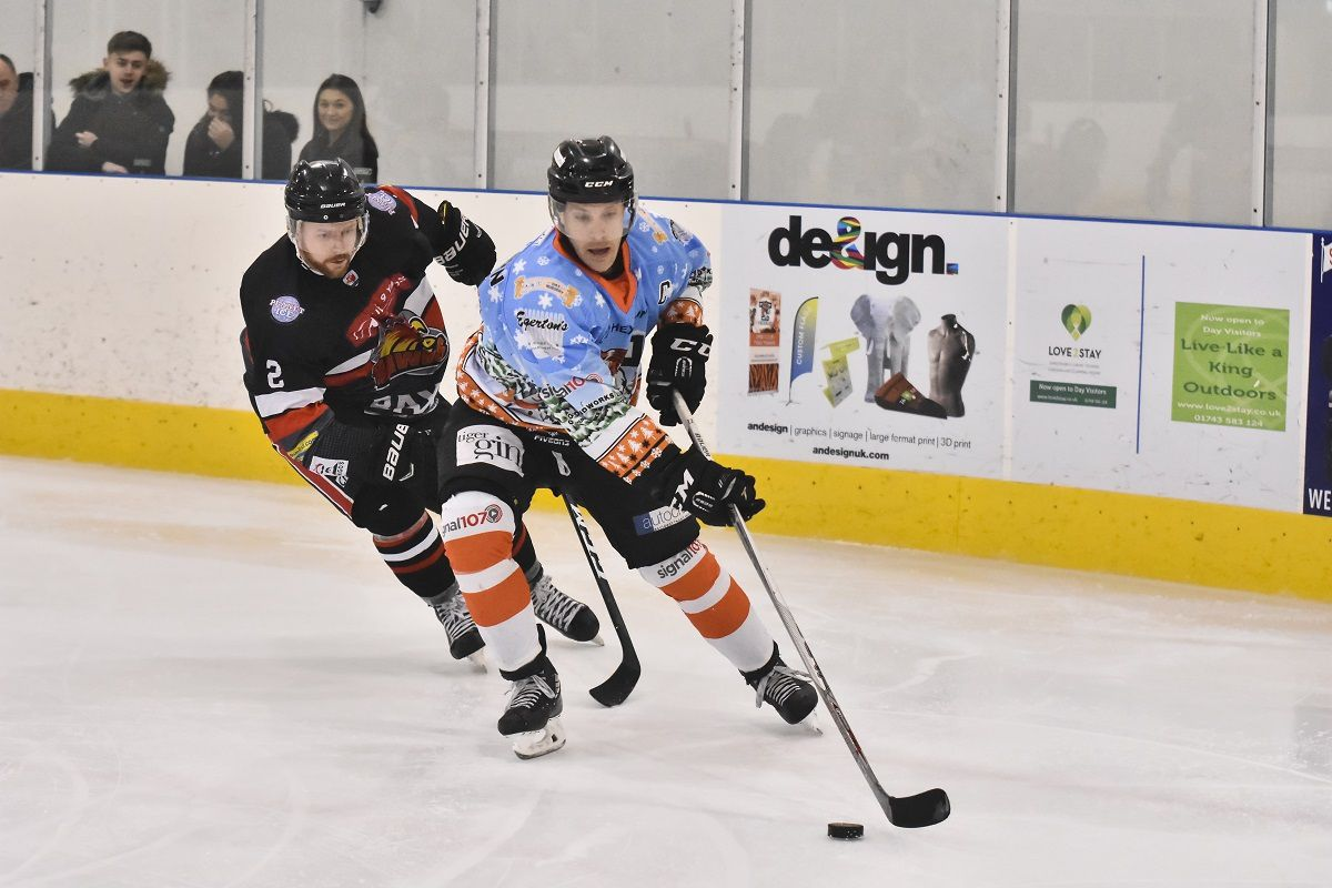 Tigers Captain Jason Silverthorn is chased down
