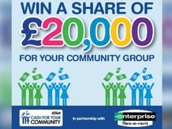 Cash For Your Community: 105 groups apply for £20,000 giveaway