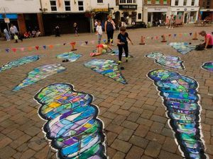 Street art and games will be coming to Shrewsbury town centre