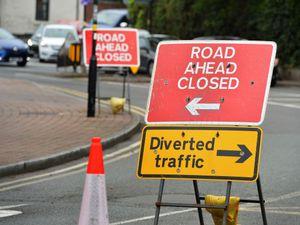 WOLVERHAMPTON PIC MNA PIC  DAVID HAMILTON PIC  EXPRESS AND STAR 16/8/21 Roadworks at Bridgnorth Road, Compton, Wolverhampton..