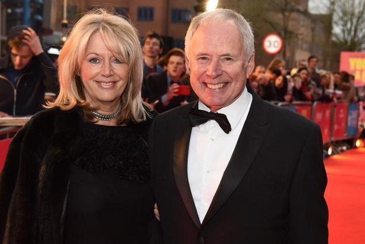 Nick Owen and partner Vicki
