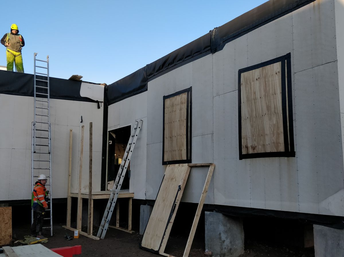 Wrekin midwife-led unit will move into the modular building when work is completed
