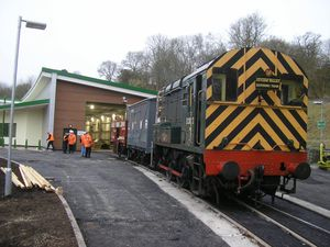 Class 08 shunter, similar to the one being converted to hydrogen