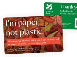 National Trust ditches plastic for paper for annual membership cards
