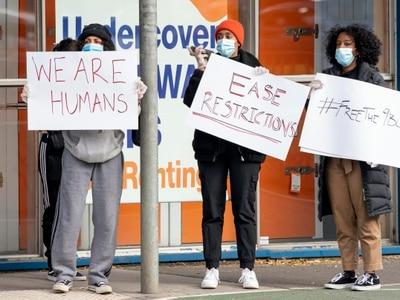 Anger over resumption of lockdown measures in Melbourne