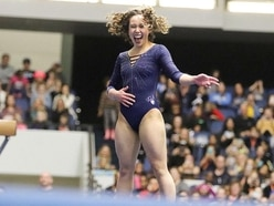 College gymnast goes viral with mesmerising perfect 10 routine