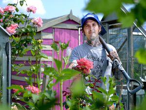 Adam Turner preparing to welcome visitors this weekend