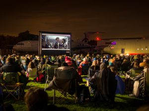 The RAF Cosford Museum will be hosting outdoor cinema events again in August
