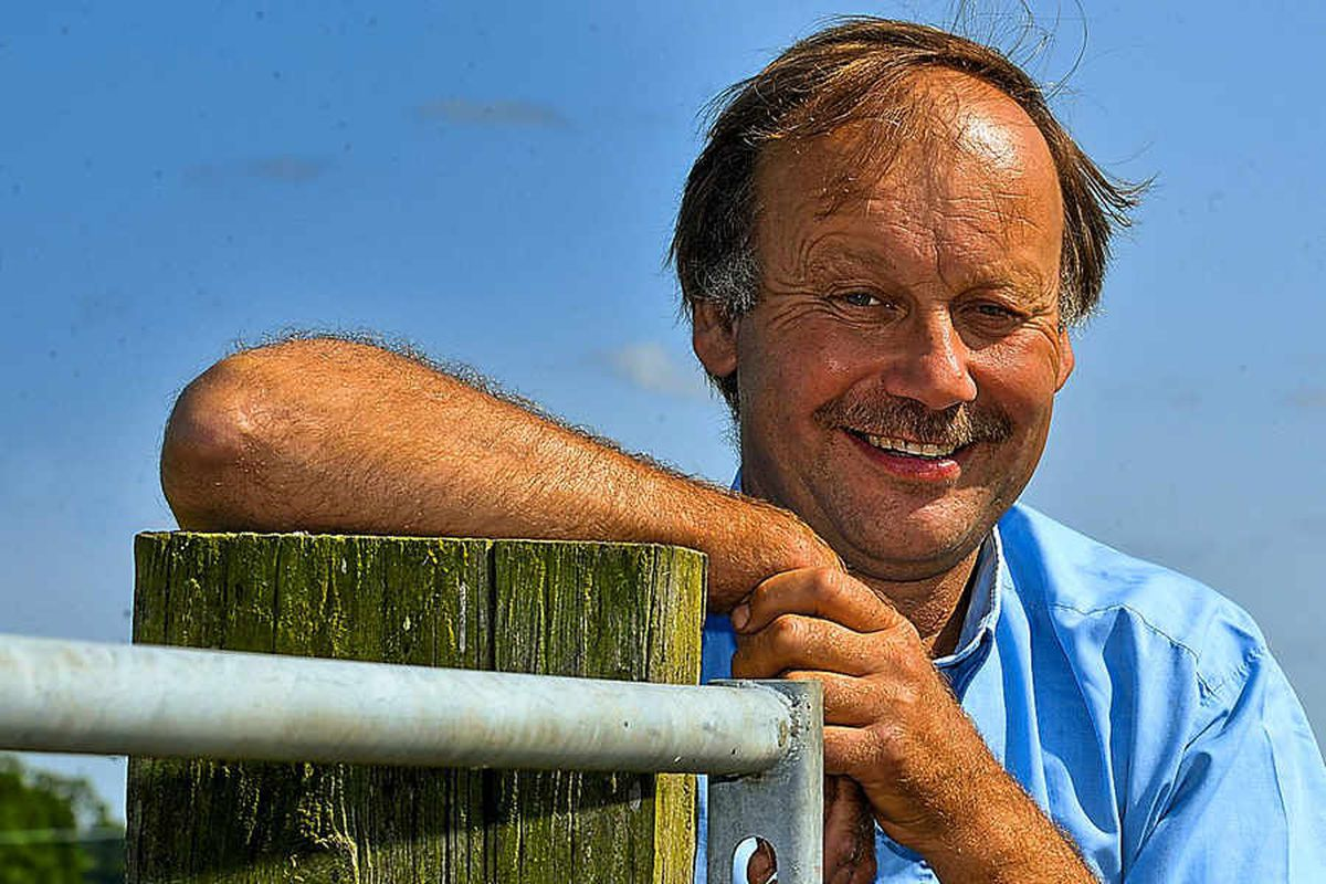 Paul Hickson of Brooklands Farm