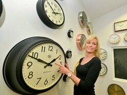 Lots of time on her hands as clocks go forward an hour