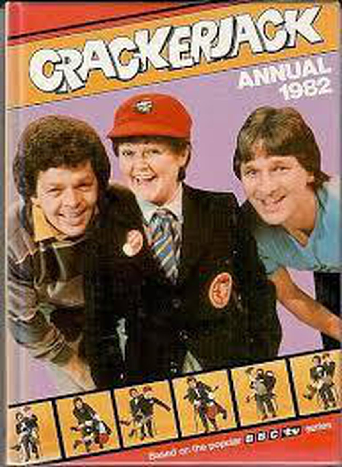 The Krankies and Stu Francis on the cover of the Crackerjack! annual