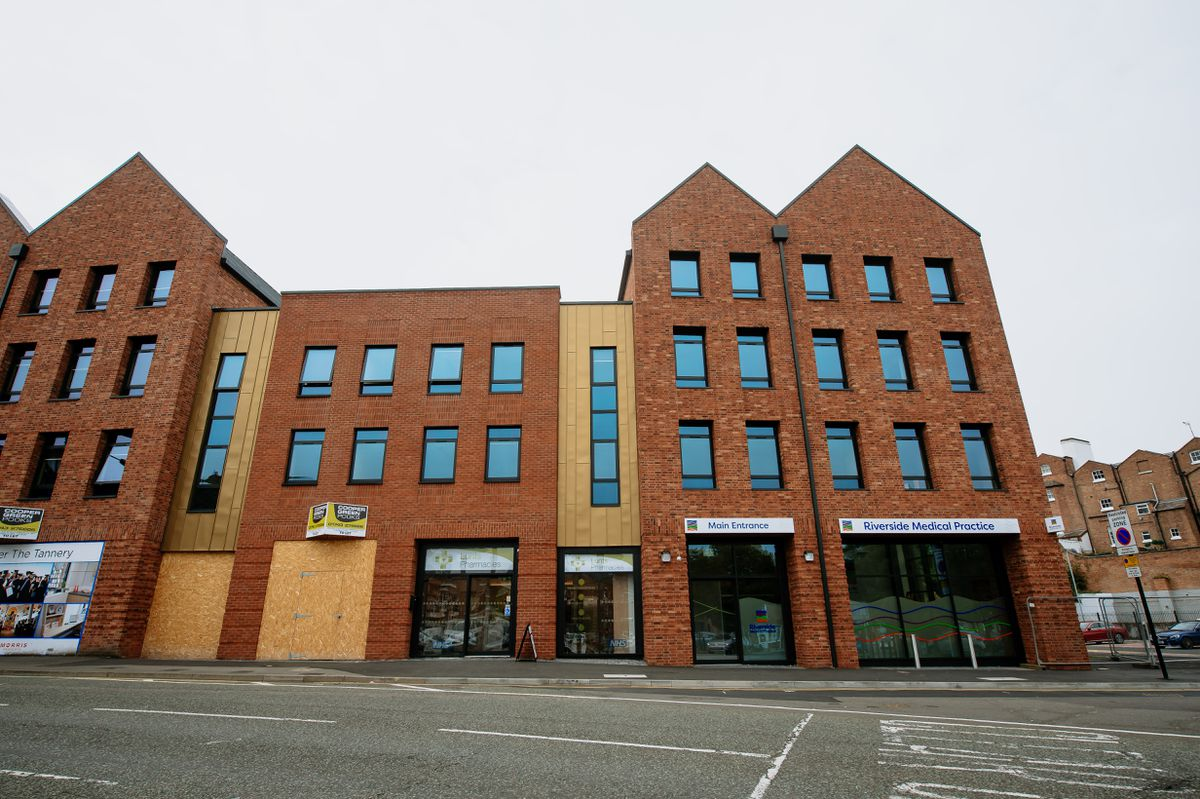 Riverside Medical Practice in Shrewsbury has moved to The Tannery in Barker Street