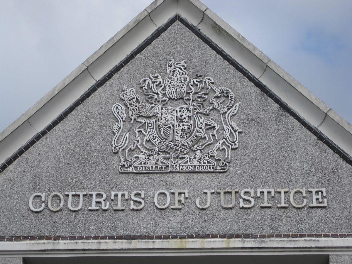 Truro Crown Court stock