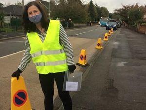 Councillor Julia Buckley is trialling a traffic calming scheme in Bridgnorth