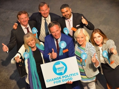 Brexit Party punishes Tories and Labour in EU elections