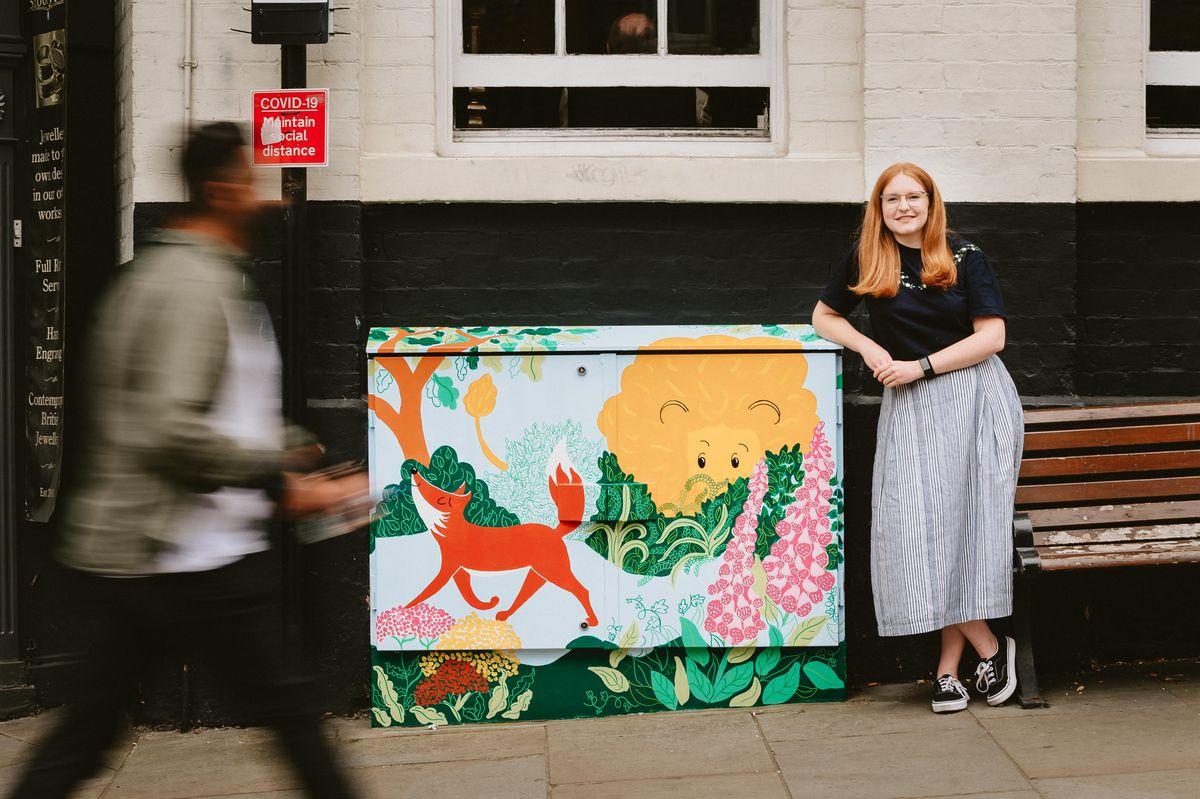 Artist Hannah Chumbley