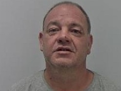 Jailed: Telford man, 45, drove camper van over his partner