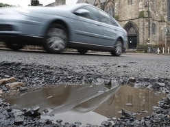 Pothole crisis after another Siberian freeze in Shropshire
