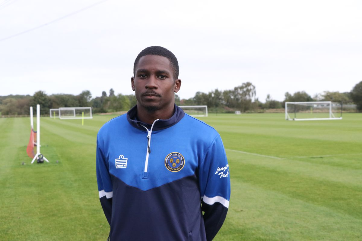 New Shrewsbury Town loan signing Shilow Tracey from Tottenham Hotspur Pic: STFC
