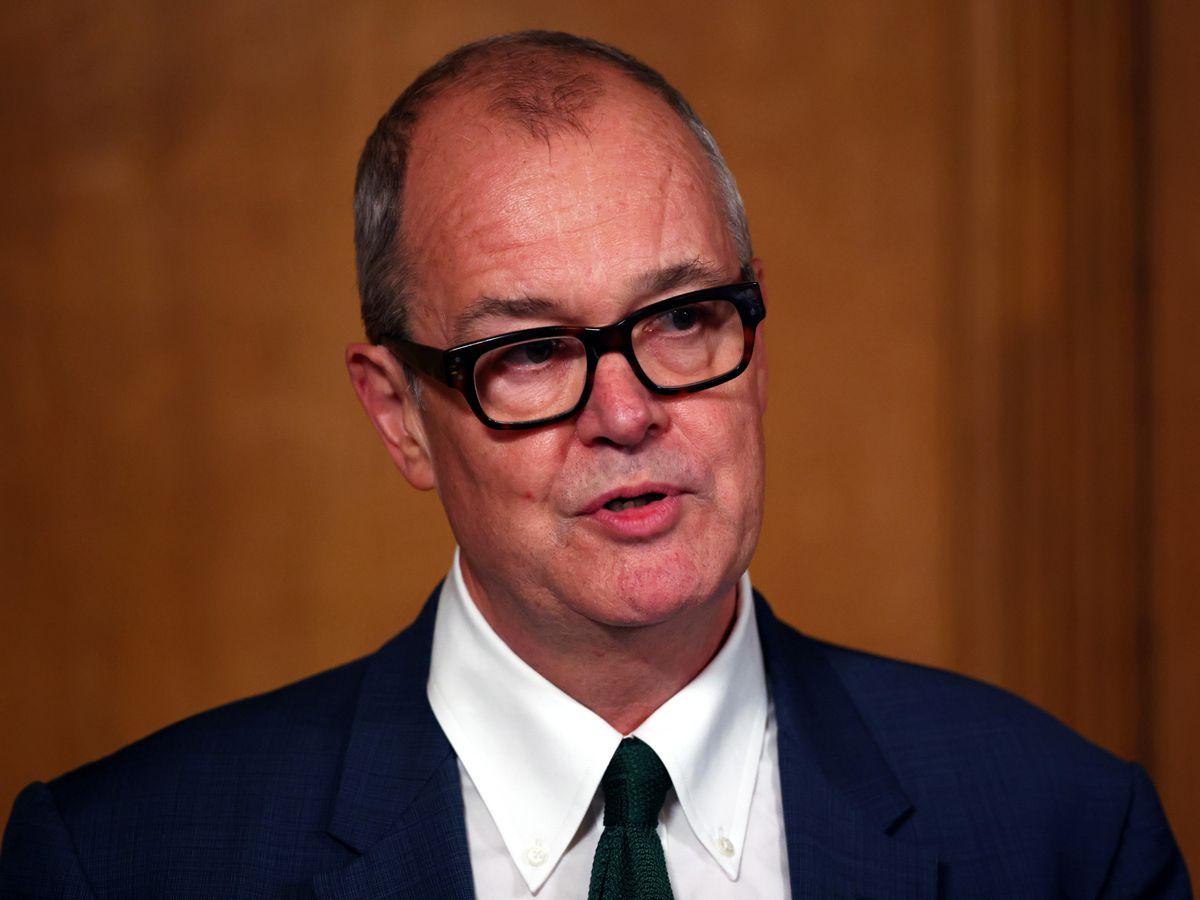 Sir Patrick Vallance during a media briefing in Downing Street, London, on coronavirus