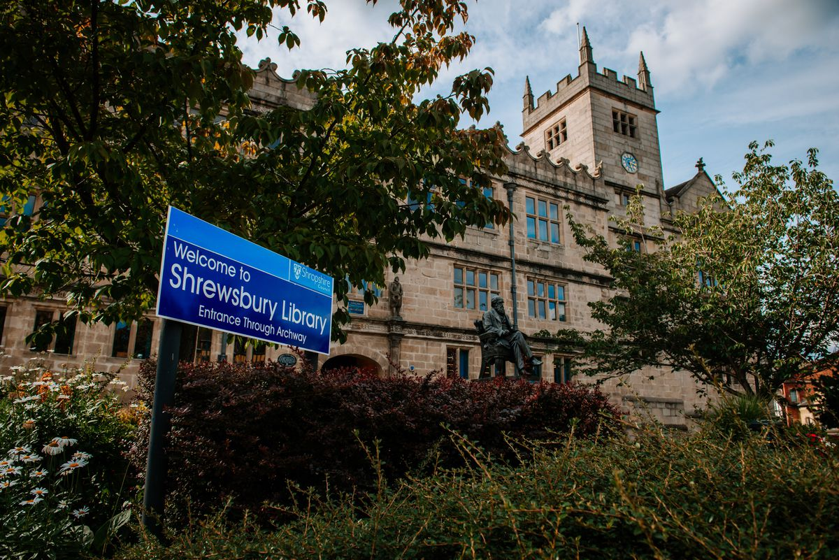 Shrewsbury Town Council, which is based at the town's library, will be freezing council tax for the coming year.
