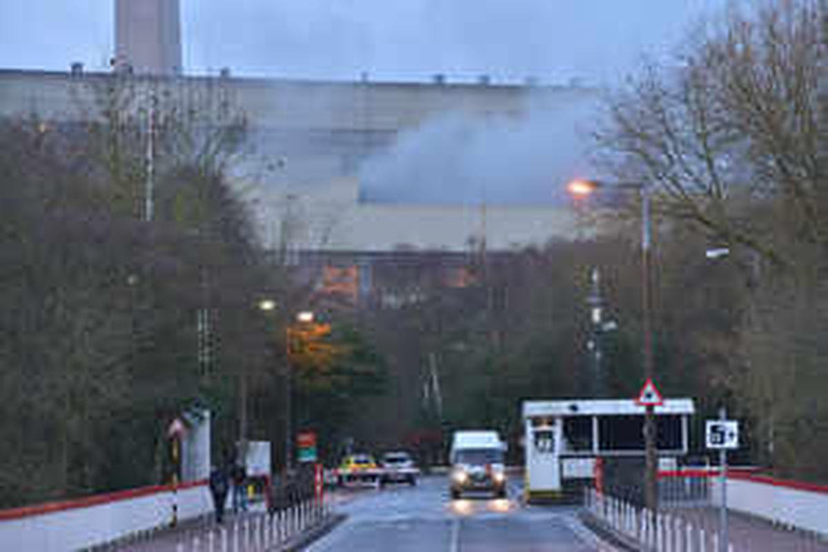 Ironbridge Power Station fire blamed for 'energy crunch'