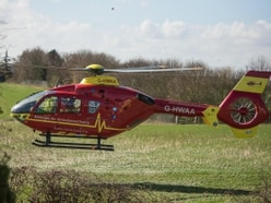 Air ambulance called to second Shropshire crash in four hours