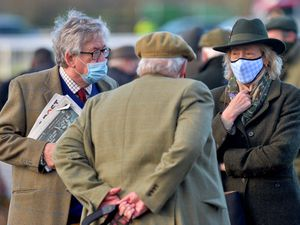 Spectators return to Ludlow Racecourse