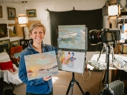Coronavirus: International artist from Bridgnorth hopes to inspire others with online classes