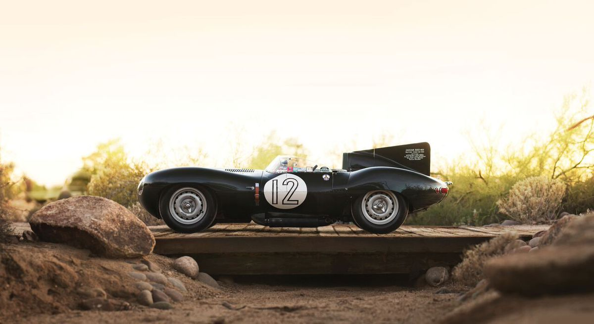 The Jaguar D-Type could fetch £11 million at auction. Picture credit: Patrick Ernzen © 2017 Courtesy of RM Sotheby's