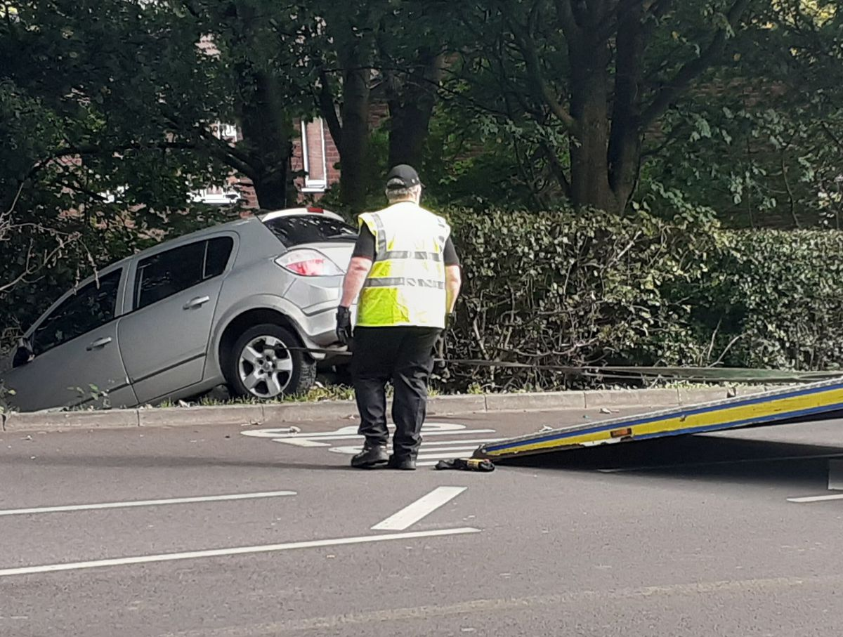 The car was recovered from the scene