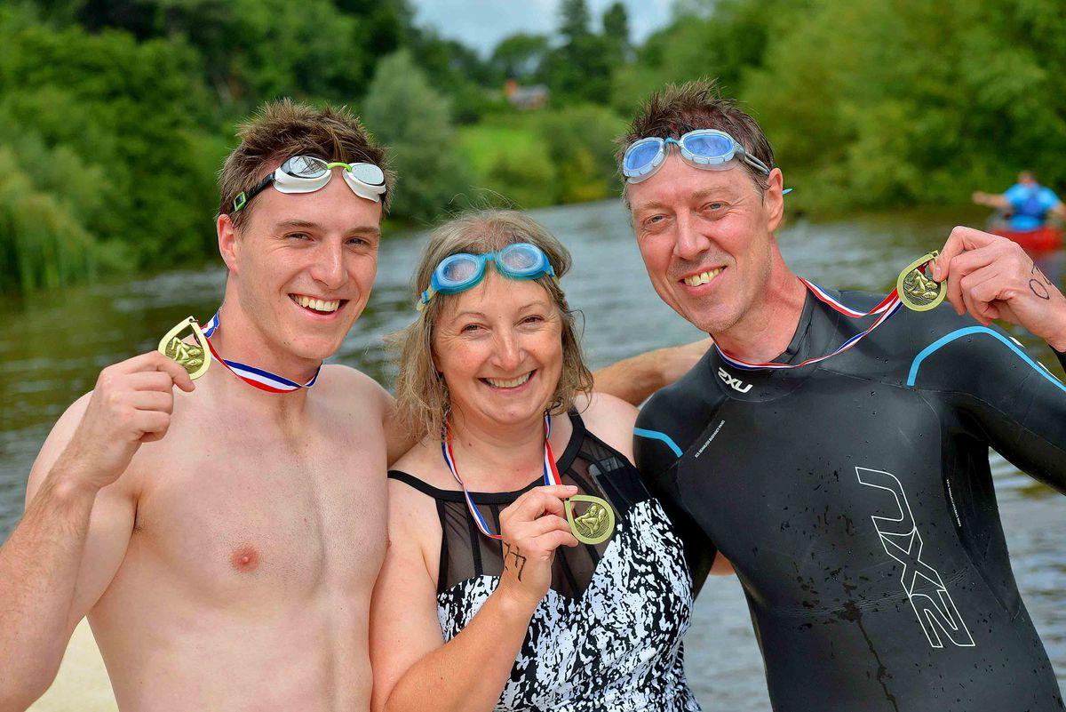 Howard Stringer 23, Karen Stringer 53 and Julian Stringer 53 all from Shrewsbury