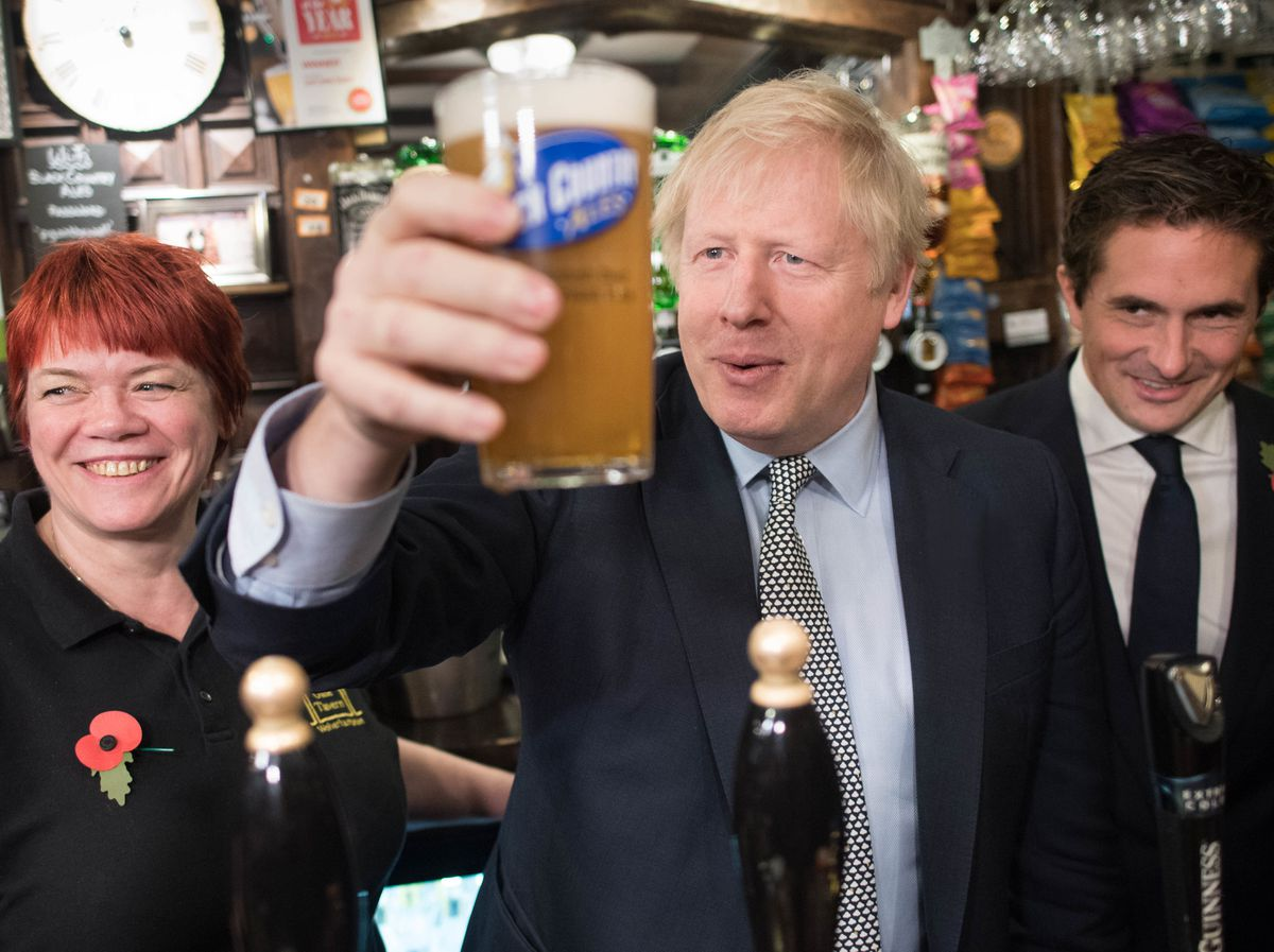 Boris Johnson has ordered early closing at pubs in an effort to reduce social mixing