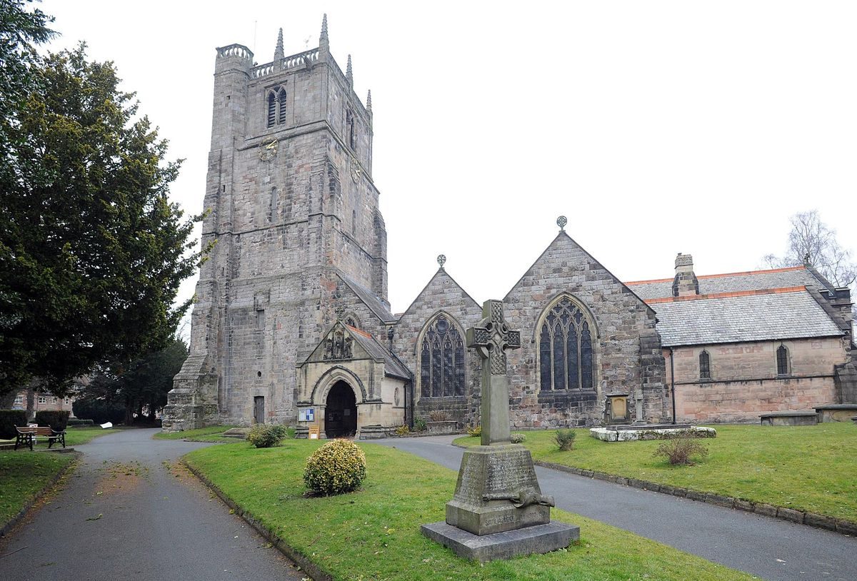 St Oswald's Church in Oswestry