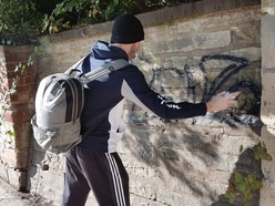Shrewsbury graffiti 'tagger' sought by police and council
