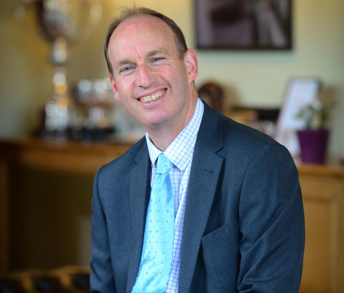 Wrekin College headteacher Tim Firth
