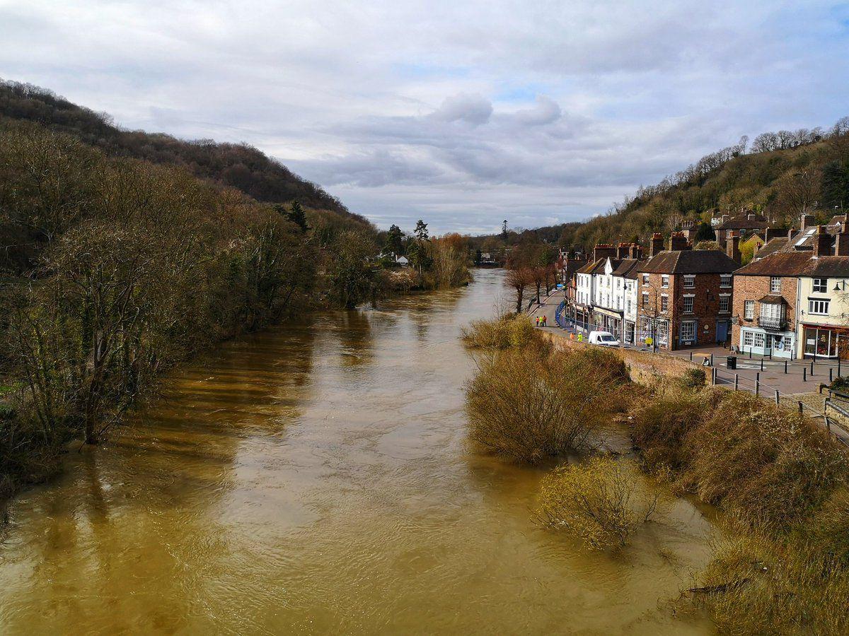 Liam Ball's photos show the Severn in Ironbridge