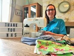 Telford college tutors are sewing for the NHS