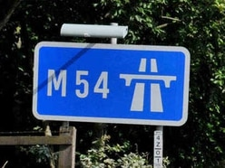 M54 delays after rush-hour crash