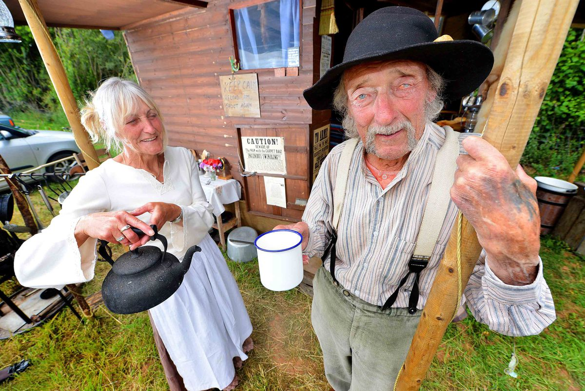 Annie Oakley and Rick Cole from Shrewsbury