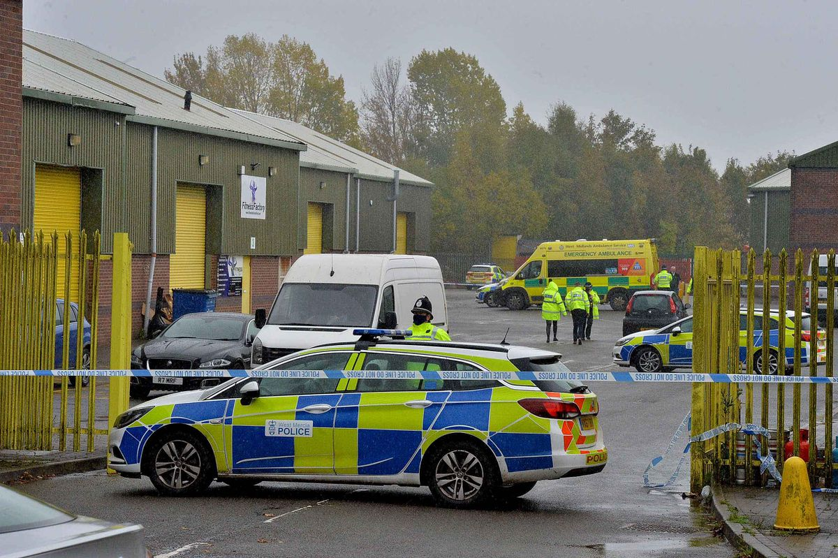 A murder investigation has been launched following a shooting in Telford