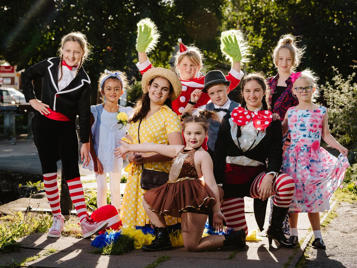 Newport Musical Theatre Academy is putting on a performance of The Cat in The Hat at Telford Priory School this weekend