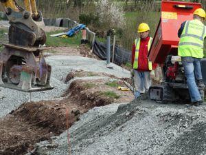Volunteers restore the Montgomery Canal
