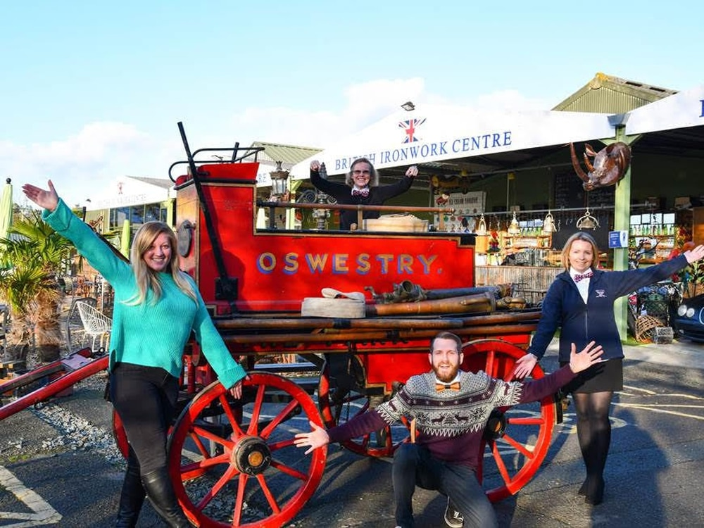Horse-drawn vintage Shropshire fire engine gets new home