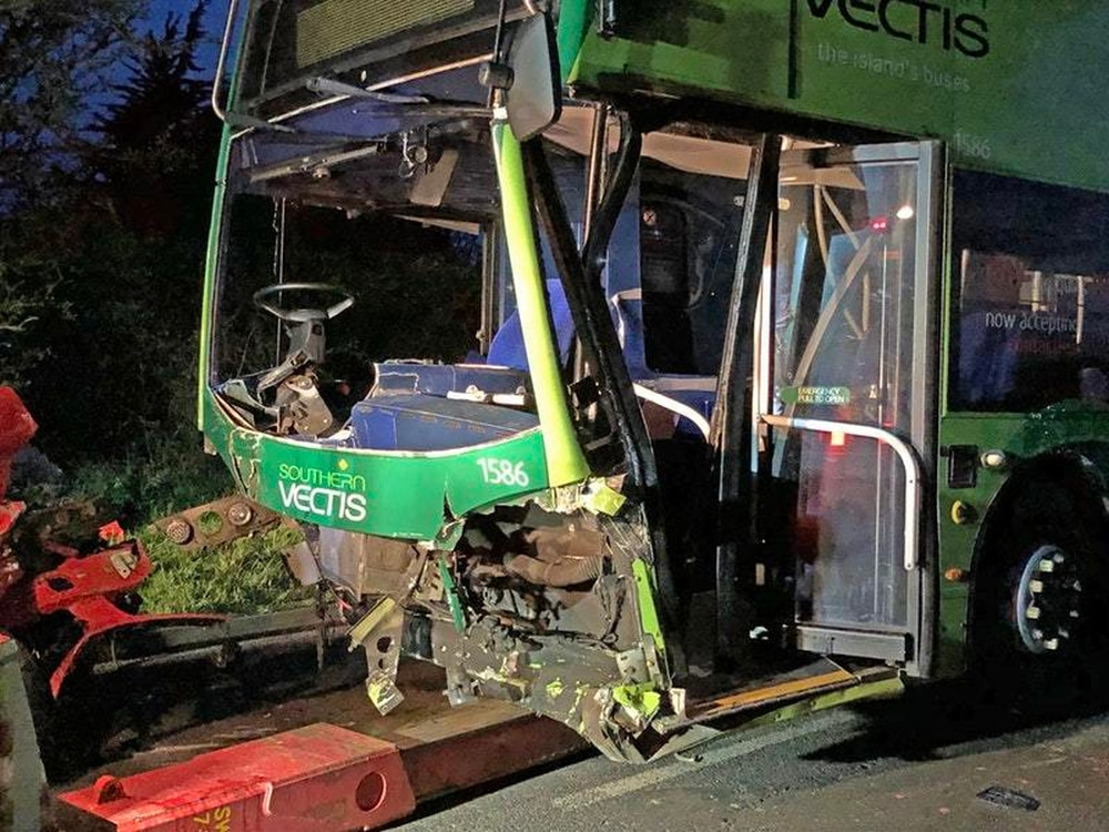 Woman killed in Isle of Wight bus crash 'will be greatly missed