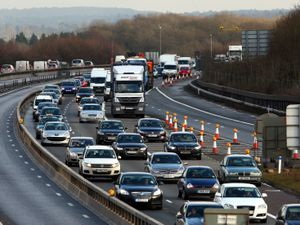 A general view of the M25 near Westerham, Kent, as traffic builds up for the Christmas getaway. PRESS ASSOCIATION Photo. Picture date: Friday December 21, 2012. Floods, signal failures and even animals on rail tracks combined to hold up millions of travellers today as the Christmas getaway began. Flooding affected a number of rail services, which were also delayed when animals got on to the line near Micklefield in Yorkshire. One of the worst of the delays was due to a signal problem at Hayes & Harlington in west London. This caused long hold-ups to those travelling by rail to Heathrow on the west London airport's busiest day of the Christmas period. Buses had to replace trains due to flooding on a number of lines, while on the London Underground the whole of the Jubilee Line was closed at the start of services due to a signalling system problem. See PA story TRAVEL Getaway. Photo credit should read: Gareth Fuller/PA Wire.