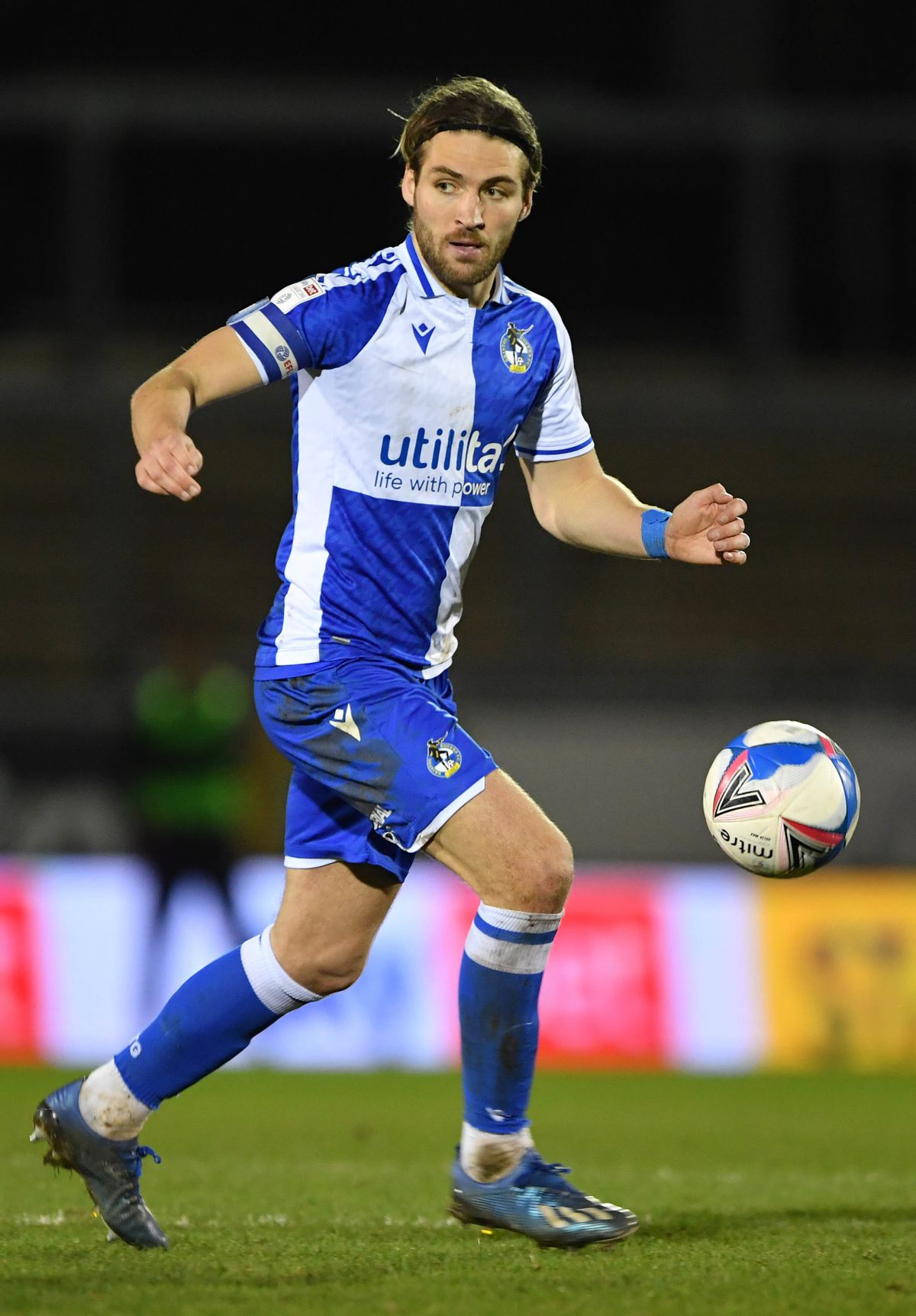 File photo dated 23-02-2021 of Bristol Rovers' Luke Leahy. Issue date: Monday May 17, 2021. PA Photo. Luke Leahy will join Shrewsbury on a two-year deal after leaving Bristol Rovers. See PA story SOCCER Shrewsbury. Photo credit should read Simon Galloway/PA Wire..