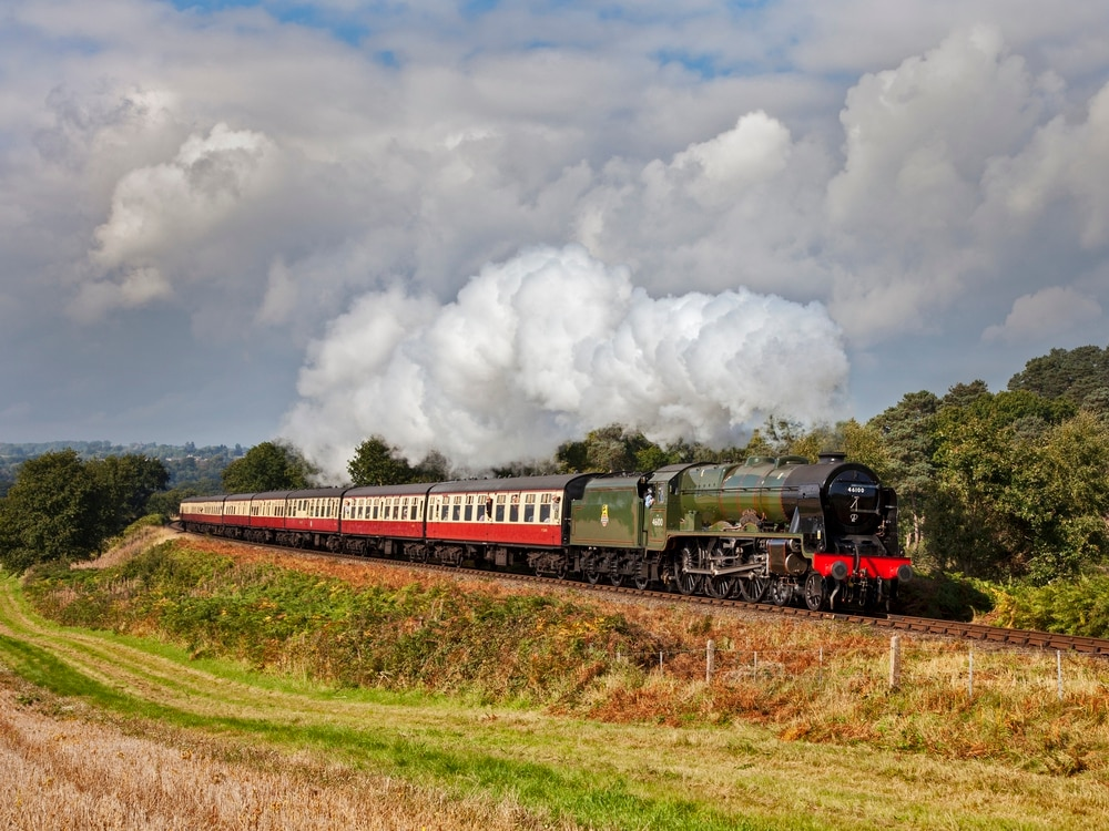 'Royal' visitors steam in for Severn Valley Railway season finale gala