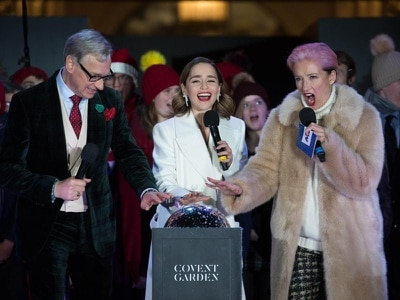 In Video: Watch the Covent Garden Christmas lights switch-on