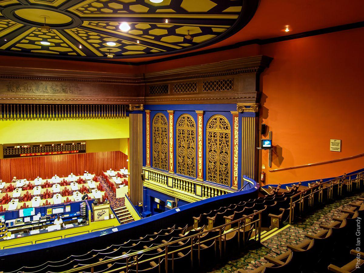 The auditorium of the old Granada cinema